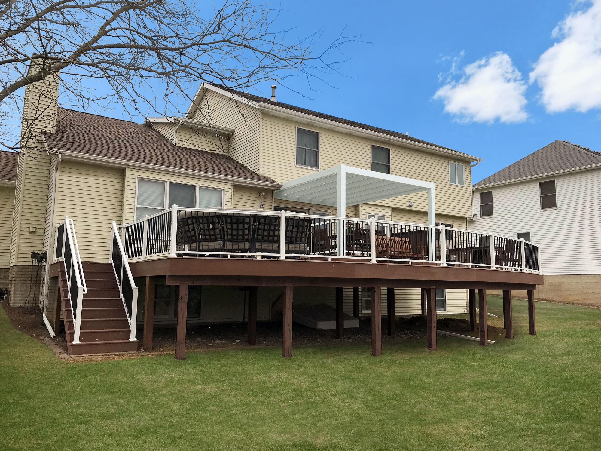 Attached Deck Design